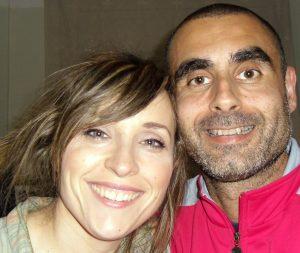 David y Loli contentos