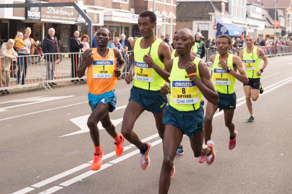 corredores profesionales demaratón